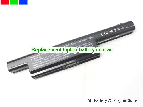 ASUS X93SM-YZ065V Battery 5200mAh, 56Wh  10.8V Black Li-ion
