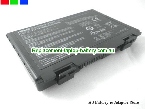 ASUS X5JIJ Battery 4400mAh, 46Wh  10.8V Black Li-ion