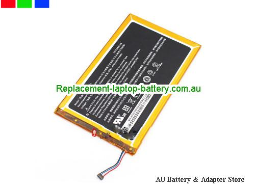 ACER A1-830 Battery 4000mAh, 14.8Wh  3.7V Black Li-Polymer