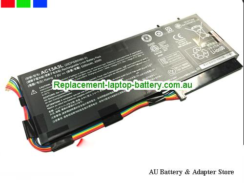 ACER 2ICP5/60/80-2 Battery 40Wh, 5280Ah 7.6V Black Li-ion