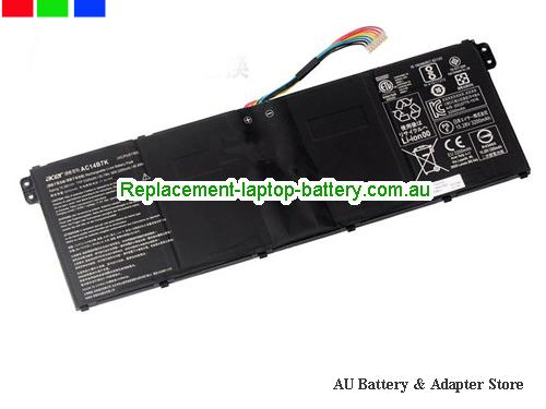AU ACER AC14B7K Battery For 	Spin 5 SP51551GN Series Laptop