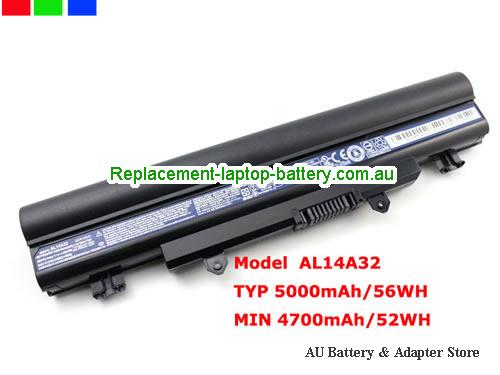 AU Genuine AL14A32 Batteryr for Acer Aspire E1-571 E1-571G Series Laptop