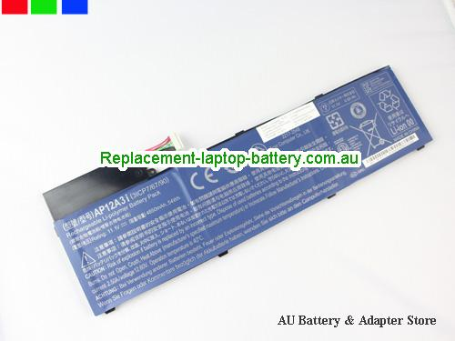 ACER V4DA2 Battery 4850mAh, 54Wh  11.1V Black Li-ion