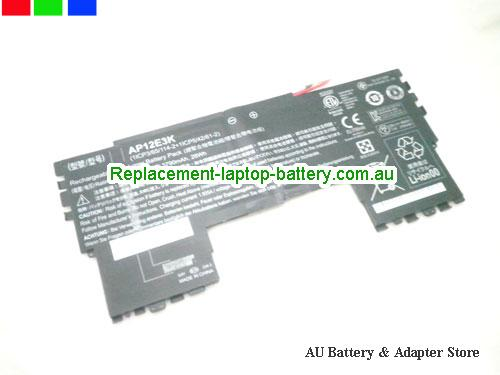 ACER 1ICP365114-21ICP54261-2 Battery 3790mAh, 28Wh  7.4V Black Li-Polymer