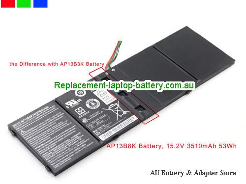 AU New Genuine AP13B8K Battery For Acer Aspire M5-583 V5-573 Laptop 53Wh