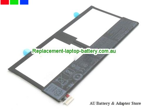 ACER 1ICP399100-2 Battery 7984mAh, 30.3Wh  3.8V Black Li-Polymer