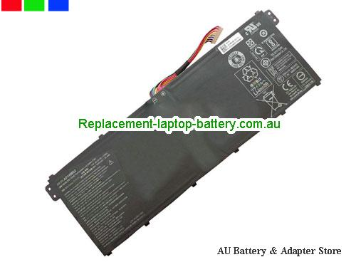 ACER Aspire 3 A315-21-24DH Battery 4810mAh 7.7V Black Li-Polymer
