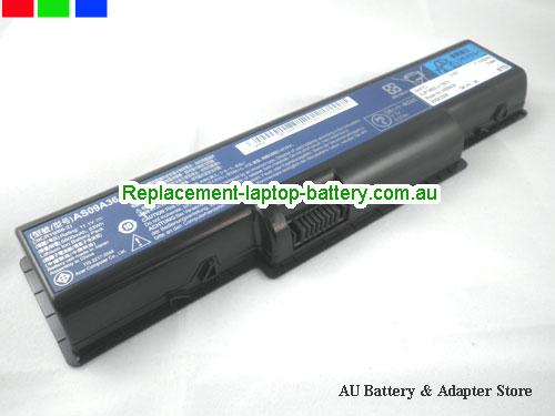 AU Replacement Laptop Battery for  ACER AS09A73, AS09A70, AS09A75, AS09A71,  Black, 46Wh 11.1V