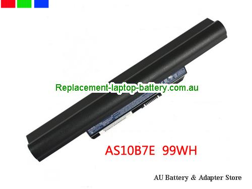 ACER 5820T-434G50Mn Battery 9000mAh 10.8V Black Li-ion