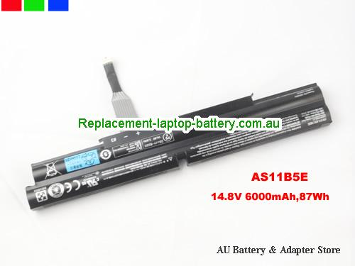 AU Original AS11B5E Battery For Acer Aspire Ethos 5951 5951G Series 6000mAh 87Wh