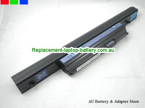 ACER 5820T-434G50Mn Battery 6000mAh, 66Wh  11.1V Black Li-ion