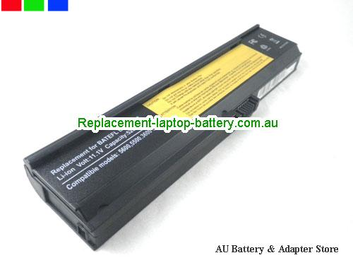 ACER 3UR18650F-3-QC262 Battery 5200mAh 11.1V Black Li-ion