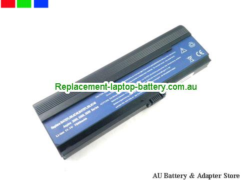 ACER Travelmate3273WXMi Battery 6600mAh 11.1V Black Li-ion
