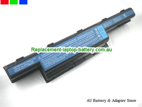 ACER 4752G Series Battery 4400mAh 10.8V Black Li-ion