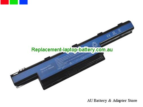 ACER 4752G Series Battery 5200mAh 10.8V Black Li-ion