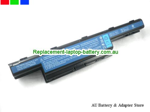 ACER 8472G HF Battery 7800mAh 10.8V Black Li-ion