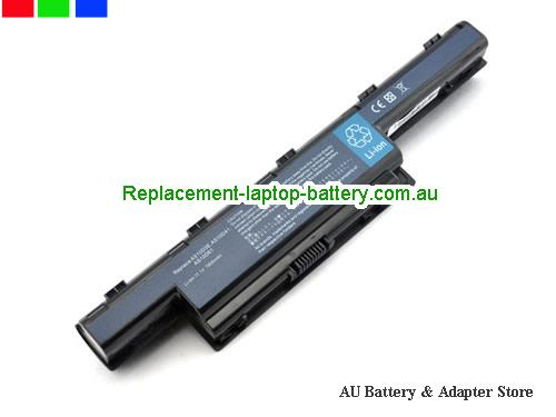 ACER 4752G Series Battery 7800mAh 10.8V Black Li-ion