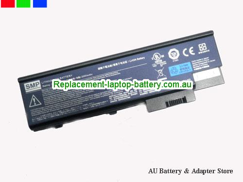 ACER 2312 Battery 2200mAh 14.8V Black Li-ion