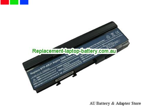 ACER LC.BTP01.011 Battery 6600mAh 11.1V Black Li-ion
