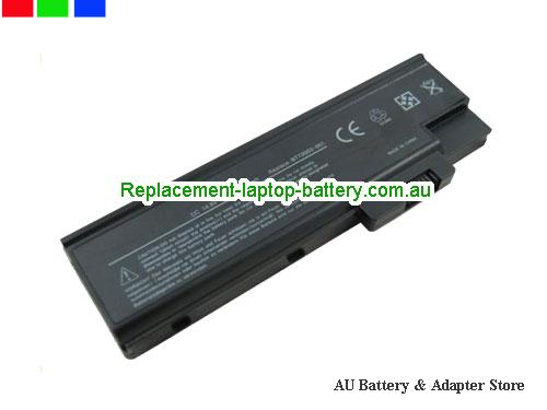 ACER 2480 series Battery 4400mAh 11.1V Black Li-ion