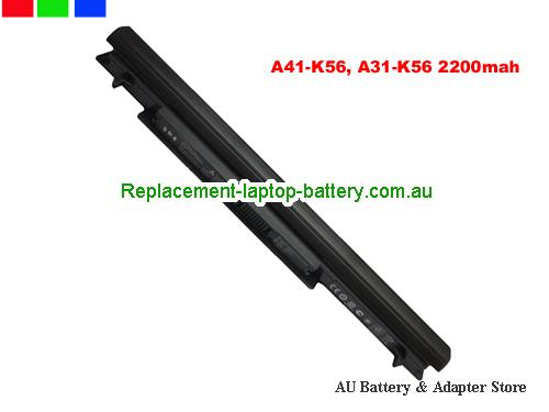 ASUS S46CB-WX119H Battery 2200mAh 14.4V Black Li-ion