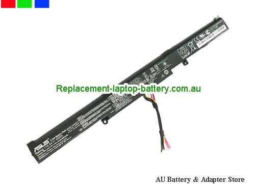 ASUS GL553VW-FY060D Battery 3350mAh, 48Wh  14.4V Black Li-ion