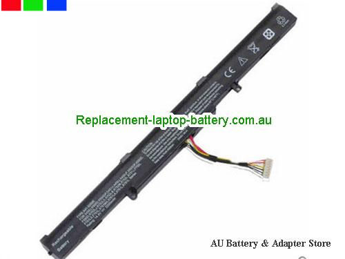 ASUS X751LAV-TY175H Battery 2200mAh 14.4V Black Li-ion