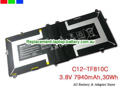 ASUS TF810C-1B059W Battery 7940mAh, 30Wh  3.8V Black Li-Polymer