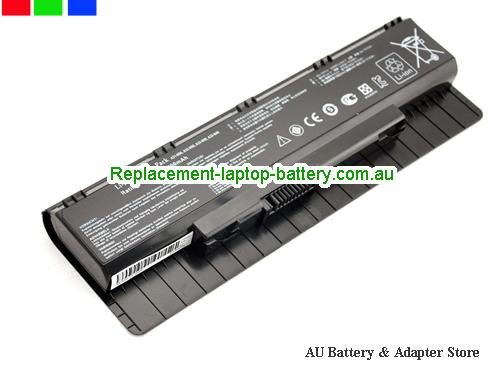 ASUS N75VZ Battery 5200mAh 10.8V Black Li-ion