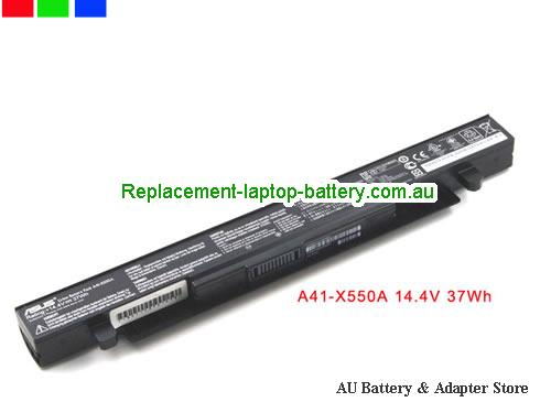 ASUS F552L Battery 37Wh 14.4V Black Li-ion