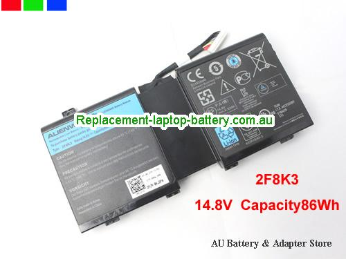 Dell G33TT Battery 86Wh 14.8V Black Li-ion