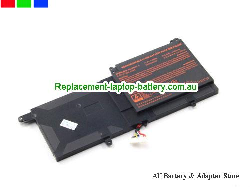 AU Genuine Clevo N130BAT-3  6-87-N130S-3U9A Battery For N130BU  NP3130