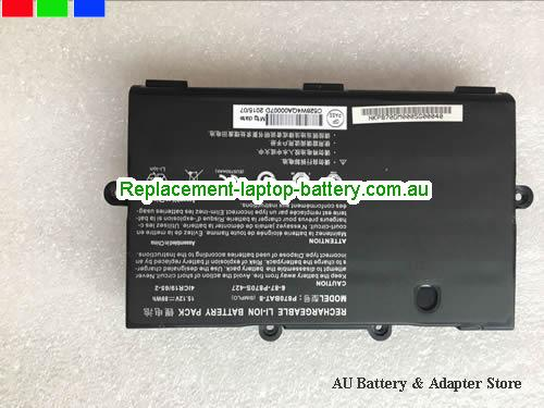 AU CLEVO P870BAT-8 battery For P870DM P8700S Laptop
