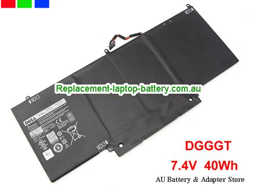 Dell XPS11-7693CFB Battery 40Wh 7.4V Black Li-Polymer