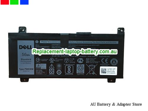 Dell Inspiron 14-7000 Battery 3500mAh, 56Ah 15.2V Black Li-ion