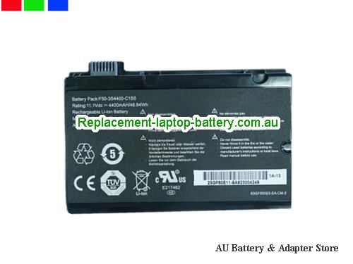 AU F50-3S4400-C1S5 Battery For HASEE A530-T44 L4300D1 Series Laptop