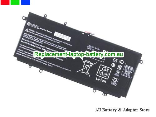 HP 738392-005 Battery 51Wh 7.5V Black Li-Polymer