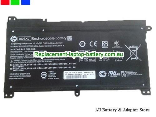 HP 13-u164tu Battery 3470mAh, 41.7Wh  11.55V Black Li-ion