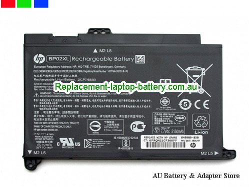 HP W2L55UAABA Battery 41Wh 7.7V Black Li-ion