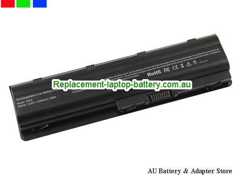 HP 593554-001 Battery 5200mAh 10.8V Black Li-ion