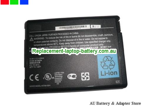 HP COMPAQ 371914-001 Battery 4000mAh 14.8V Black Li-ion