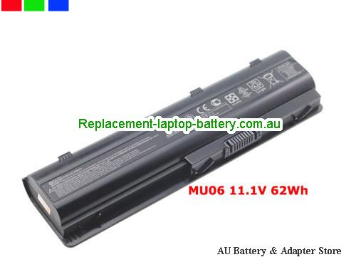 HP 593554-001 Battery 62Wh 11.1V Black Li-ion