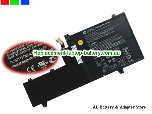 AU New Genuine HP HSTNN-IB7O OM03XL Battery For HP EliteBook x360 1030 G2 Laptop