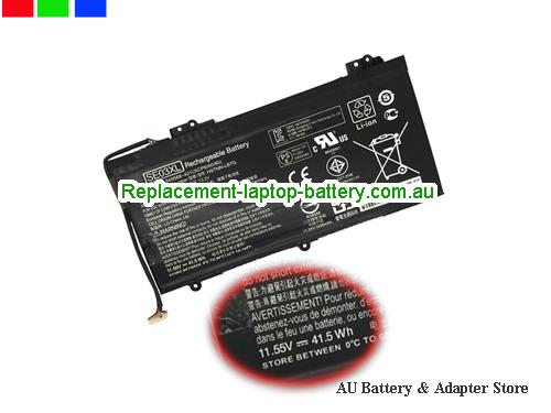 HP AI136TX Battery 3450mAh, 41Wh  11.55V Black Li-ion