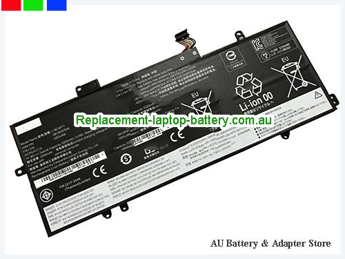 LENOVO 2019 Thinkpad X1 Carbon Battery 3312mAh, 51Wh  15.4V Black Li-Polymer