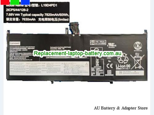 LENOVO Yoga C640 13 Battery 7820mAh, 60Wh  7.68V Black Li-Polymer