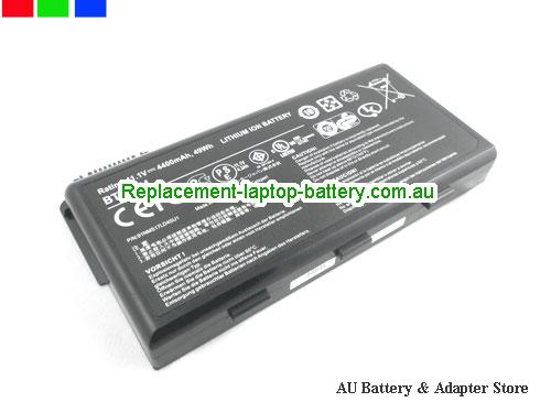 MSI A6000 Battery 4400mAh, 49Wh  11.1V Black Li-ion