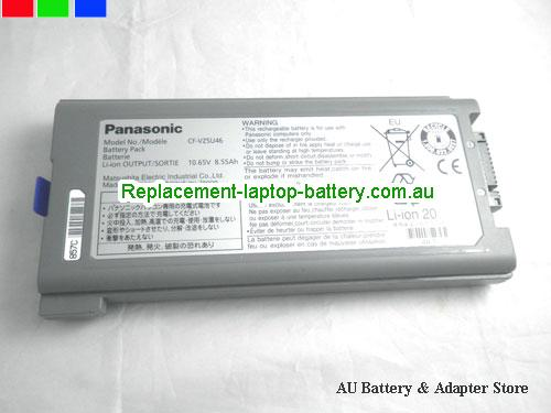 PANASONIC CF-53SSLAY1M Battery 8550mAh, 87Wh , 8.55Ah 10.65V Grey Li-ion