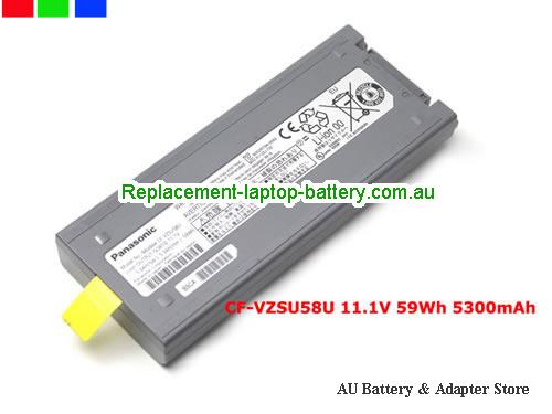 PANASONIC ToughBook CF-19RJRCG1M Battery 5600mAh, 59Wh  11.1V Grey Li-ion