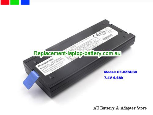 PANASONIC CF18 Battery 6600mAh, 6.6Ah 7.4V Black Li-ion